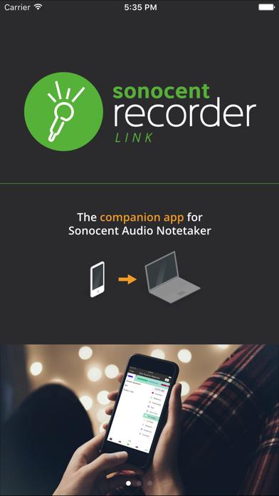 Sonocent Link screenshot one