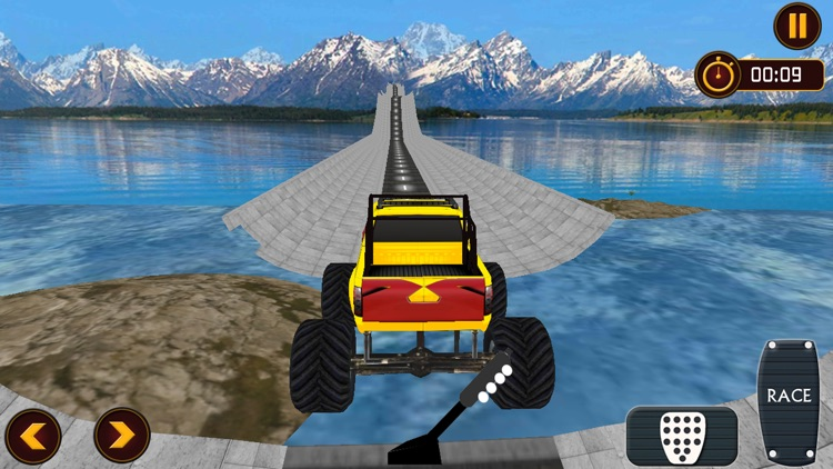 Crazy Monster Truck Drive