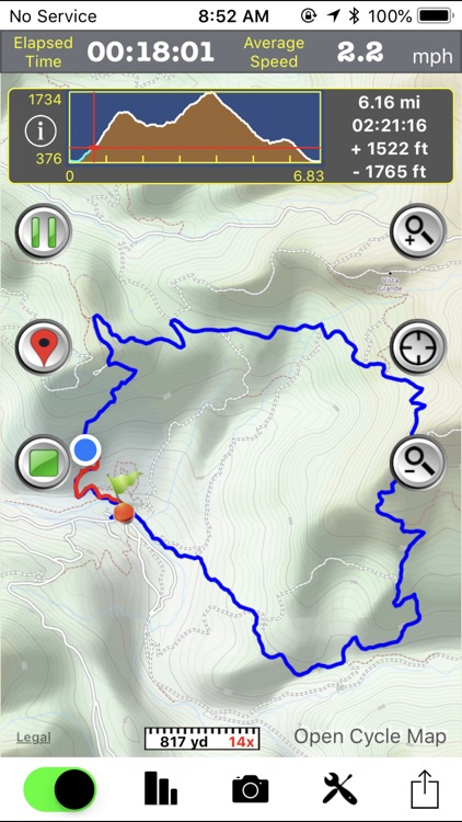 GPS Hiker screenshot-1