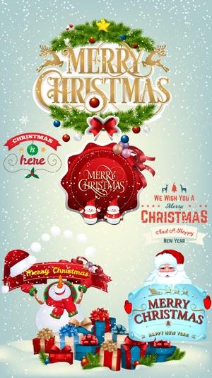 Merry Christmas >> Merry Christmas Greetings Emoji Stickers Bundle On The App Store