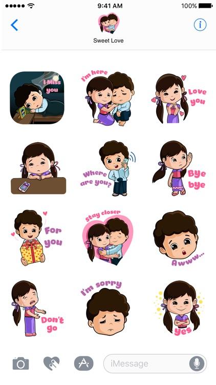 Sweet Love - Sticker