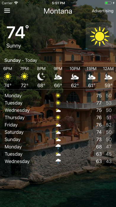 Weather - Local Forecast screenshot two