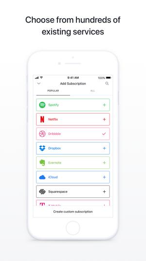Bobby - Track subscriptions Screenshot