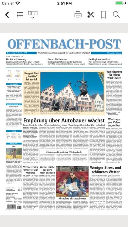 Offenbach-Post E-Paper