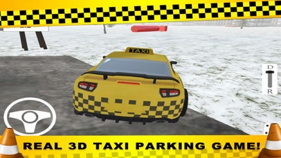 Parking CITY TAXI - Driver Sim screenshot 3