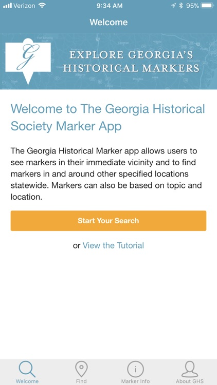 Georgia's Historical Markers screenshot-0