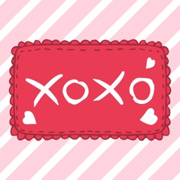 xoxo - I Love You Stickers