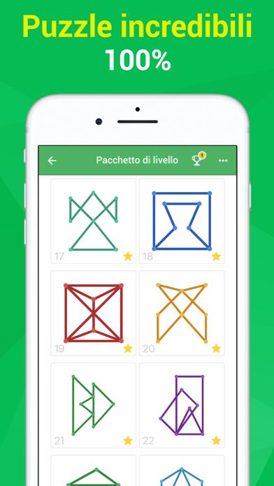 Screenshot of One Line – gioco di puzzle1