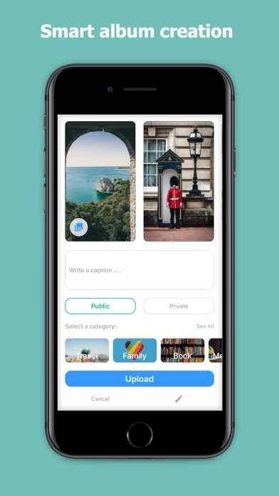Image of LiveCloud - A Social Storage for iPhone