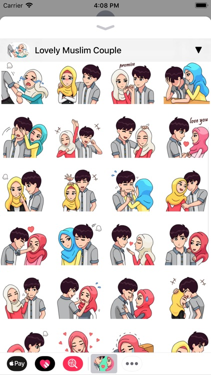 Muslim Stickers App screenshot-1