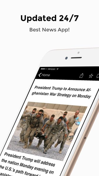 Drudge Report, FOX & Breitbart - Political News screenshot-4