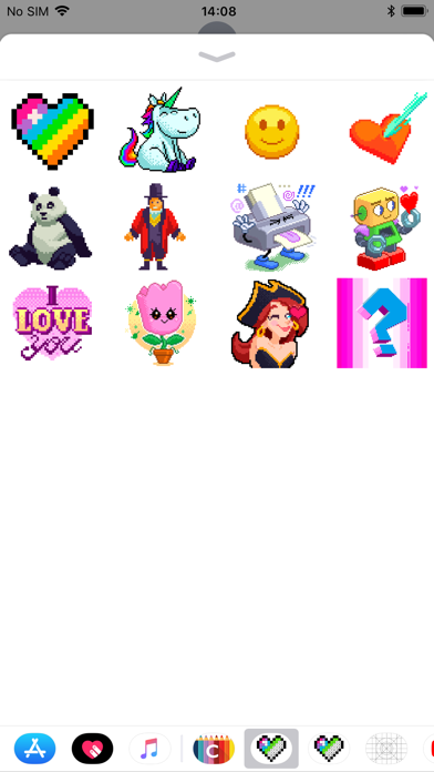 Color by Number Stickers screenshot 2