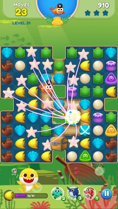 Baby Shark Match: Ocean Jam screenshot 3