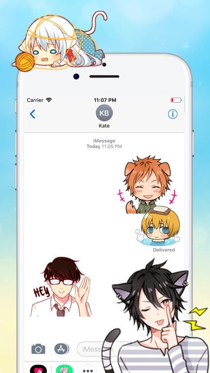 Anime Stickers Collection screenshot-6