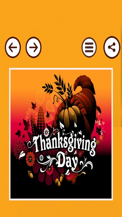 Happy Thanksgiving Day Cards screenshot four