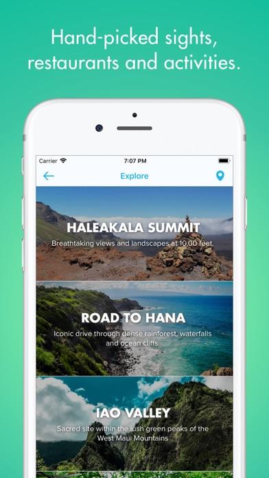 Discover Maui - Travel Guide Screenshot