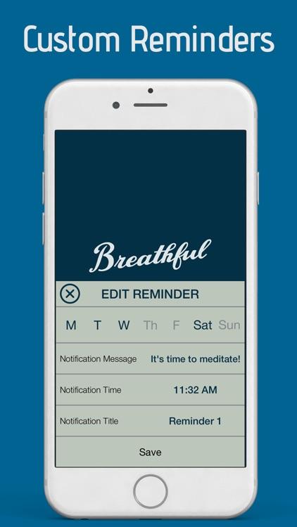 Breathful - Mindfulness Meditation screenshot-3
