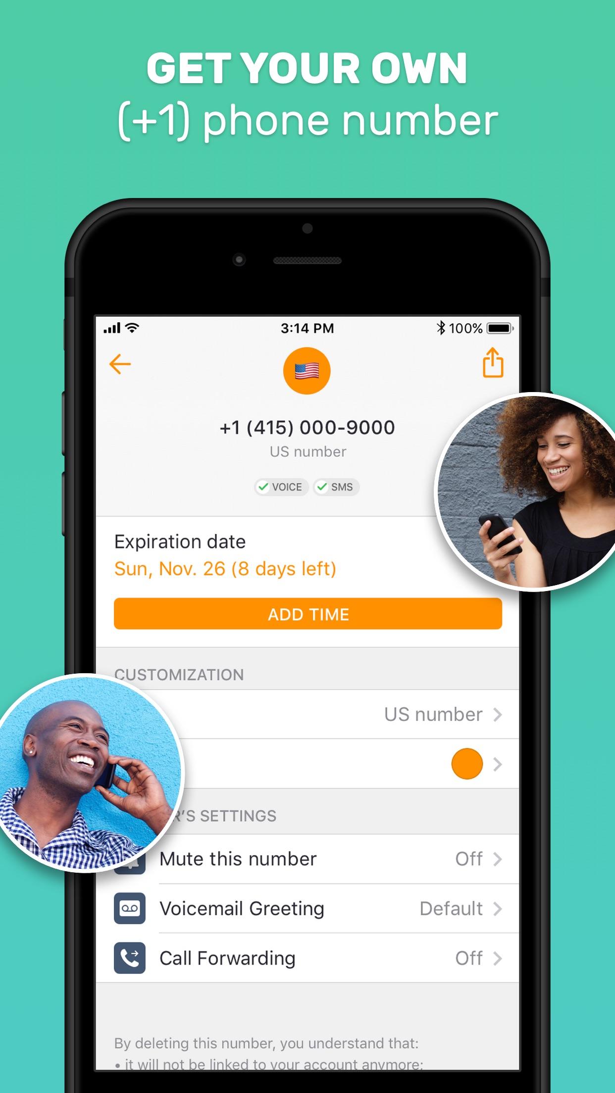 Free Tone - Unlimited Calling Screenshot