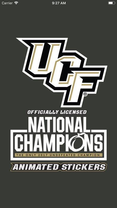 UCF® Stickers Screenshot