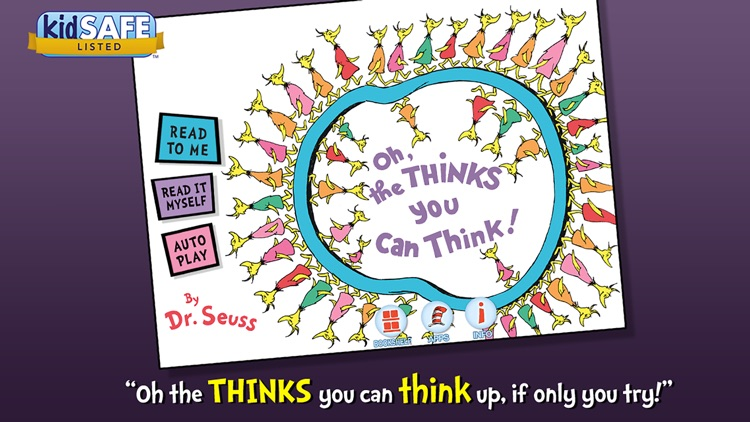 Oh, the Thinks You Can Think! - Dr. Seuss