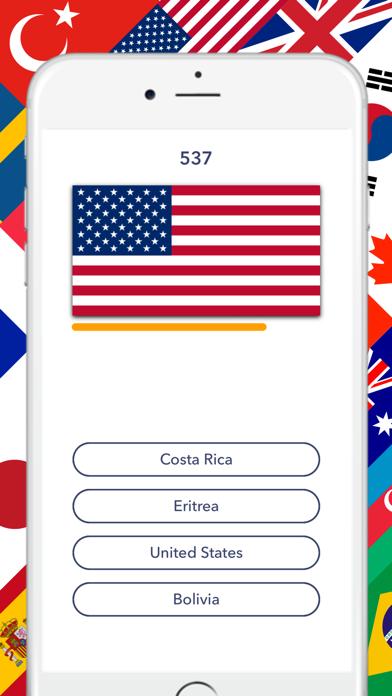 Flag Quiz - Nationalのおすすめ画像1
