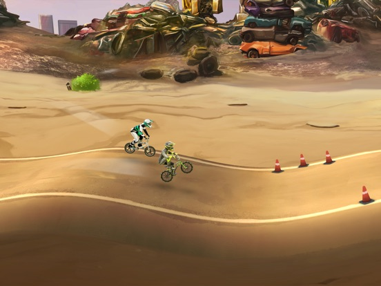 Mad Skills BMX 2 для iPad