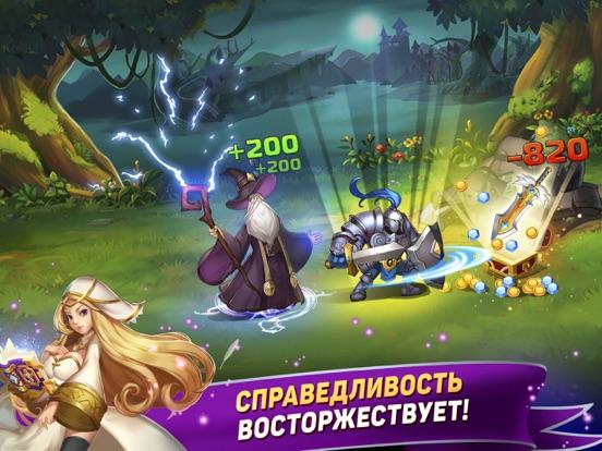 Tap Knights: монстр битва RPG Скриншоты7
