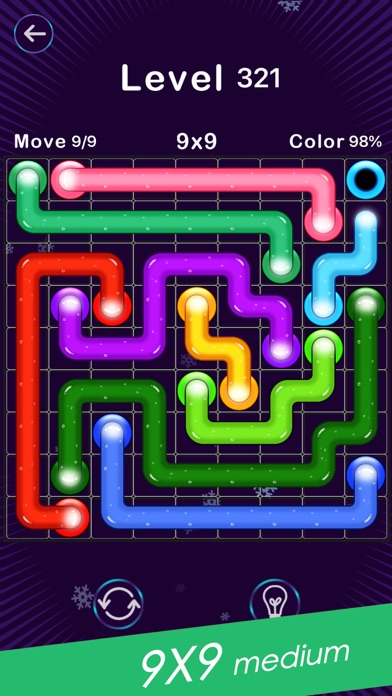Screenshot for Color Line -Fill Block Puzzle in Japan App Store