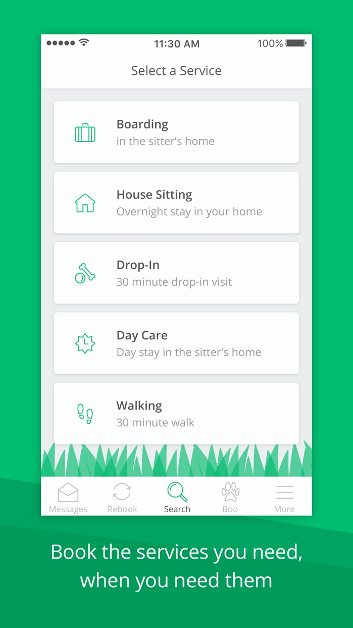 Rover—Dog Sitters & Walkers Screenshot