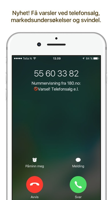 Screenshot for 180.no in Denmark App Store