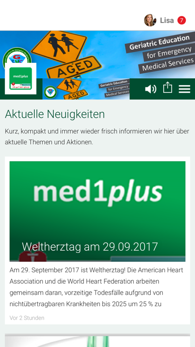 med1plus GmbH - App screenshot 1