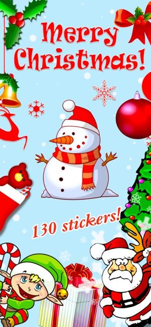 screenshots - Merry Christmas Stickers