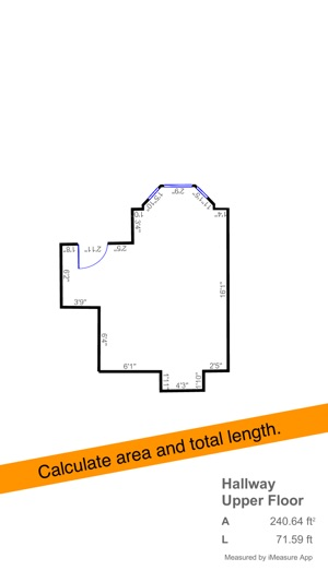iMeasure-Floor Plan Screenshot
