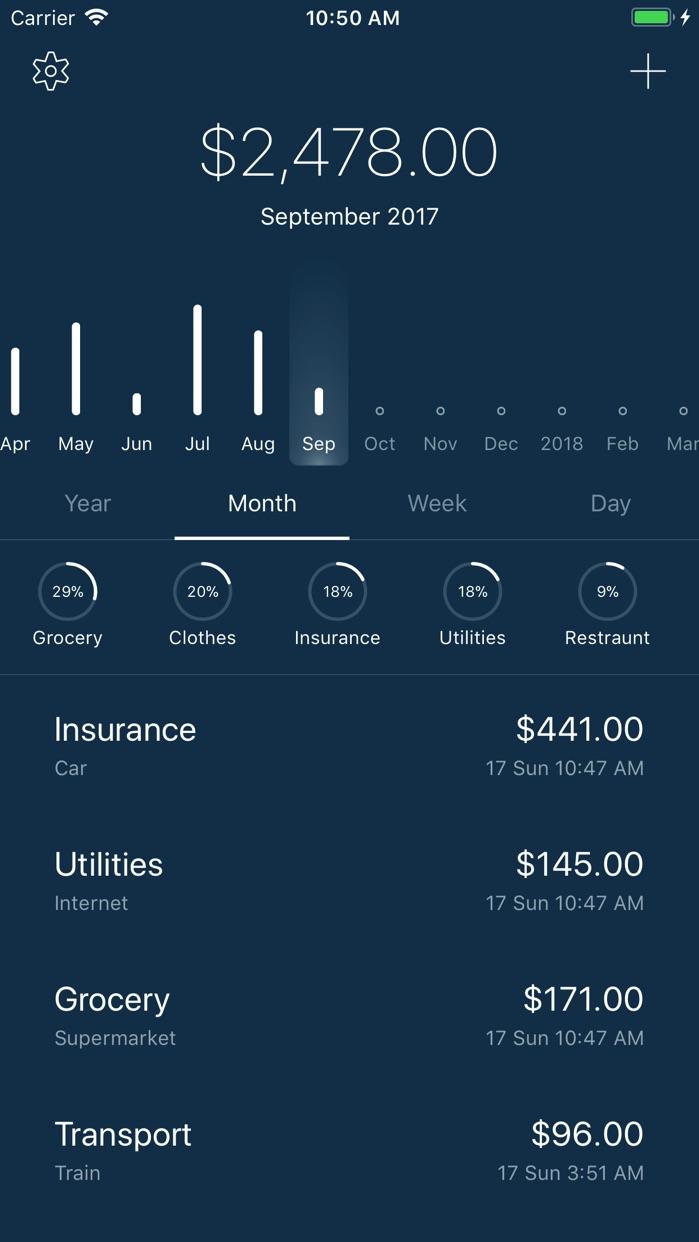 5coins Expense Screenshot