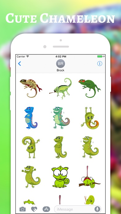 download Chameleon Color Stickers apps 1