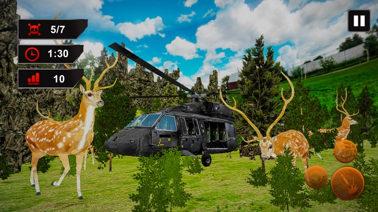 Helicopter Deer Hunting 2017