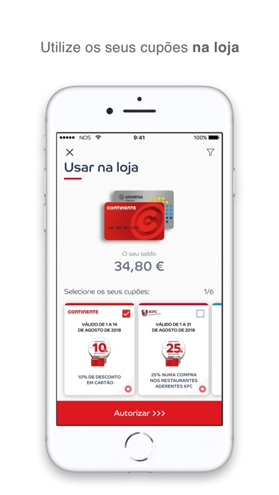 Screenshot for Cartão Continente in Portugal App Store