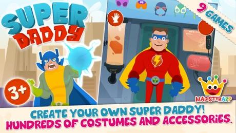 Super Daddy – Dress Up a Hero