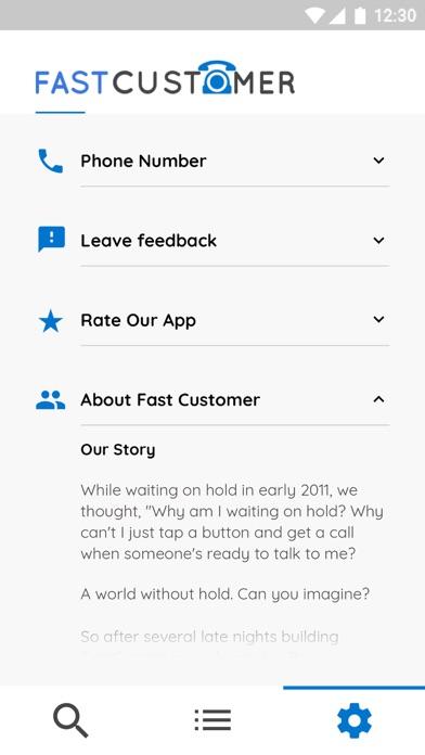 Fast Customer screenshot four