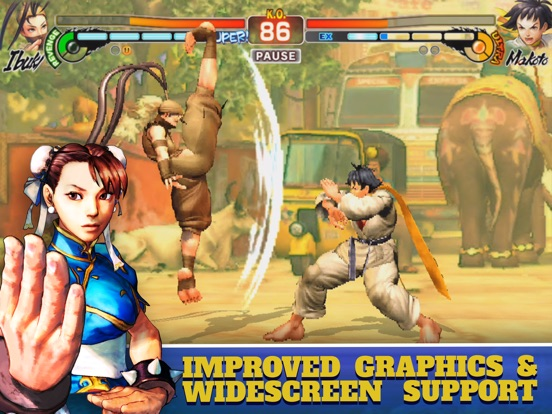 Street Fighter IV CE для iPad