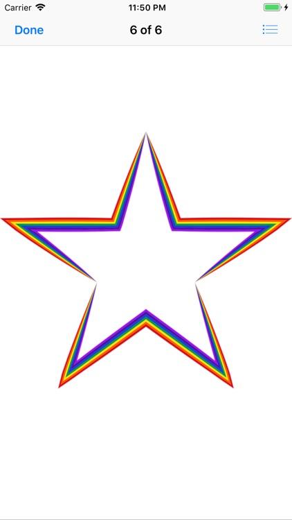 Shining Star Sticker Pack screenshot-6