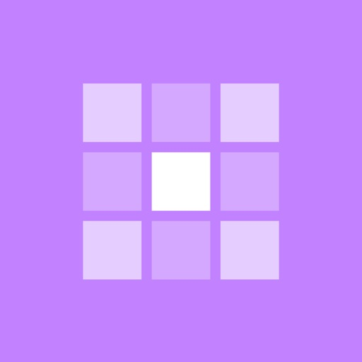 Grids – Giant Square Layout iOS App