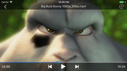 Swifter Player - 動画音楽... screenshot1