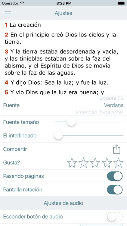 La Biblia Reina Valera Audio screenshot-4