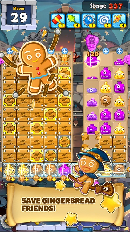 Monster Busters:Match 3 Puzzle screenshot-3