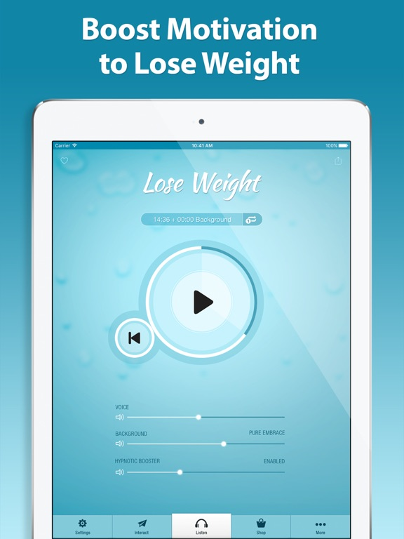 Screenshot #4 pour Weight Loss Hypnosis PRO