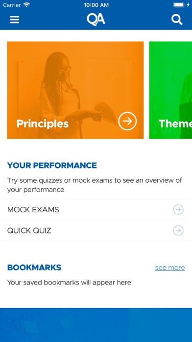 QA PRINCE2® Accelerator screenshot one
