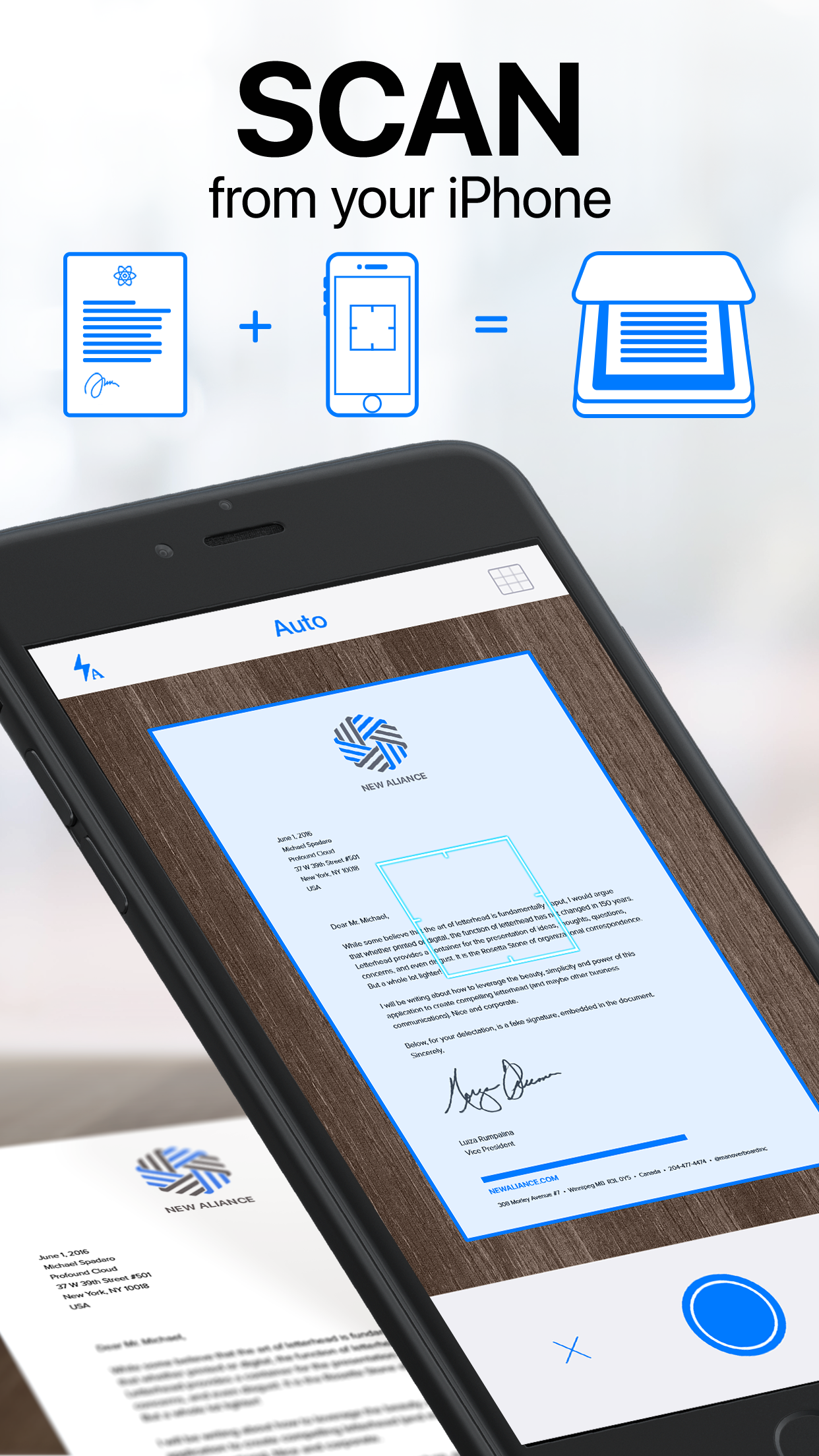 Scanner App: Scan PDF Document Screenshot