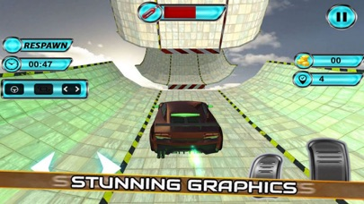 Vertical Ramp Stunts: Car Driv screenshot 2