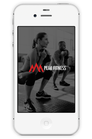 Peak Fitness App screenshot 1